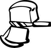 Découpage en tranches de pain Images libres de droits