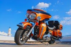 Découpeur de Harley Davidson Photos libres de droits