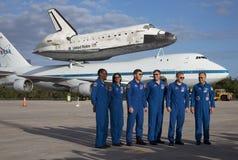 Découverte de navette spatiale Photos libres de droits