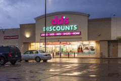 Dd's Discounts store Stock Photos