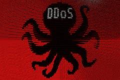 DDOS illustration de vecteur