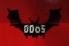 DDOS illustration libre de droits