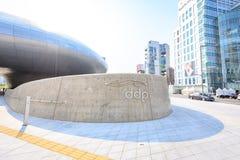 DDP, plaza do projeto de Dongdaemun o 18 de junho de 2017 em Seoul, Kor sul Fotografia de Stock