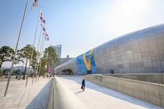 DDP, plaza do projeto de Dongdaemun o 18 de junho de 2017 em Seoul, Kor sul Imagens de Stock