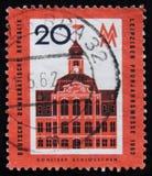 DDR德国邮票,大约1962年 图库摄影