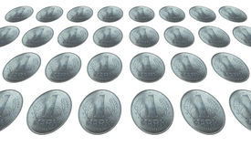 DDR coin Royalty Free Stock Image
