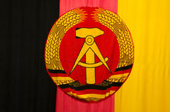 Ddr Gdr Flag Royalty Free Stock Photography