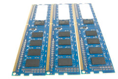 DDR memory Royalty Free Stock Image