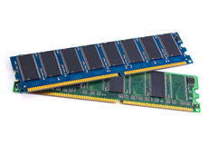 DDR memory module Royalty Free Stock Photo