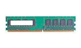 DDR2 memory module Stock Photo