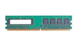DDR2 memory module Stock Photo