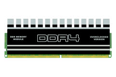DDR4 memory module Stock Photography