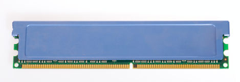 DDR memory module stick Stock Image