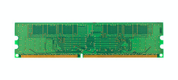 DDR memory module stick Royalty Free Stock Images