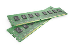 DDR3 memory modules 1 Royalty Free Stock Photos