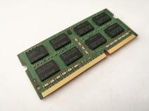 DDR RAM. DDR3 Laptop RAM Royalty Free Stock Image