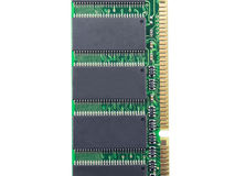 DDR RAM memory module Royalty Free Stock Images