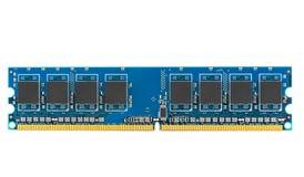 DDR RAM pamięci moduł Fotografia Stock