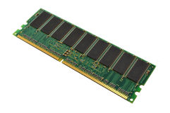 Ddr sdram memory Stock Photography