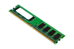 DDR2 memory module. Royalty Free Stock Photo
