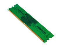DDR2 memory module in the package Stock Photos