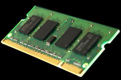 DDR2 RAM Royalty Free Stock Images
