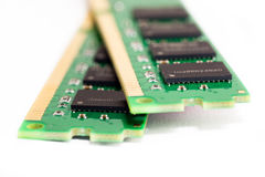 DDR3 Computer Memory. Close-up shot of DDR3 computer memory Royalty Free Stock Images