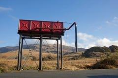 ddu napełniacza kolejowa rhyd staci kontrpary pociągu woda Fotografia Stock