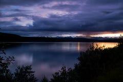 dżdżysty wschód słońca Fotografia Royalty Free
