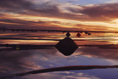 de撒拉尔uyuni 免版税库存照片