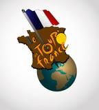 de法国浏览 库存图片