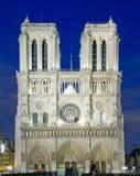 de法国贵妇人notre巴黎 免版税库存照片