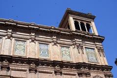 de西班牙广场塞维利亚西班牙 免版税库存照片