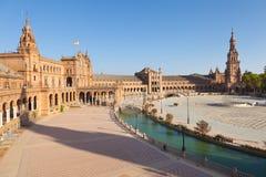 de西班牙广场塞维利亚西班牙 免版税图库摄影