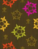 de设计fleur lis 免版税库存图片