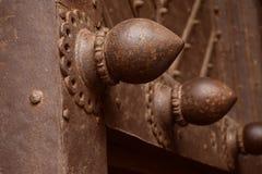De älskvärda dörrarna av det Golconda fortet Royaltyfria Foton