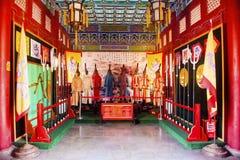 De åtta flaggorna av Qing Dynasty royaltyfri foto