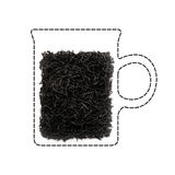 ¡ De Ð acima do chá Imagem de Stock