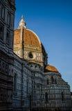 ¡De Ð athedral en Florencia Imágenes de archivo libres de regalías