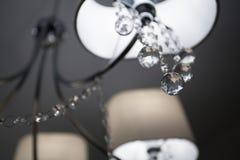 ¡ De Ð mais handelier com vidro de corte Imagens de Stock Royalty Free