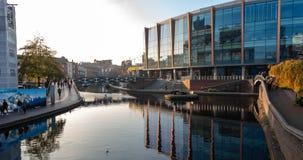 De 'Arena die 'in Birmingham bouwen stock foto
