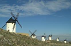 de (1) viento Molinos Zdjęcie Royalty Free