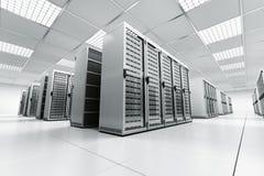 κεντρικός υπολογιστής &de Στοκ Εικόνες