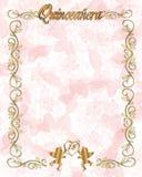 de 15de Uitnodiging van Quinceanera van de Verjaardag Stock Foto's