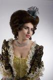 de 18de eeuwdame Royalty-vrije Stock Foto's