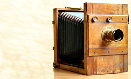 de 19de eeuwcamera stock foto