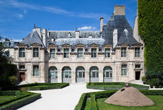 de法国旅馆巴黎玷污 免版税库存图片