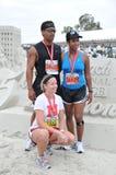 de 25ste Lange Marathon 2009 van het Strand Stock Fotografie