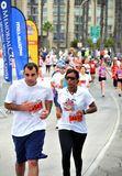 de 25ste Lange Marathon 2009 van het Strand Royalty-vrije Stock Afbeeldingen