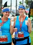 de 25ste Lange Marathon 2009 van het Strand Stock Afbeeldingen